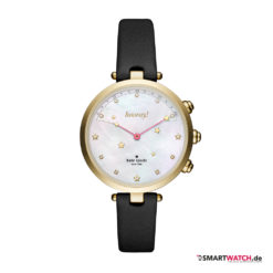 Kate Spade New York Hybrid Smartwatch Holland, Leder - Schwarz/Gold