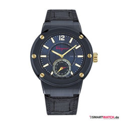 Salvatore Ferragamo F 80 Motion Watch - Blau/Gold