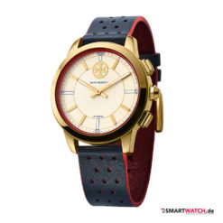 Tory Burch Collins Hybrid Smartwatch - Blau/Rot/Gold