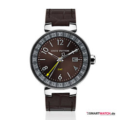 Louis Vuitton Tambour Horizon Graphite - Braun/Silber