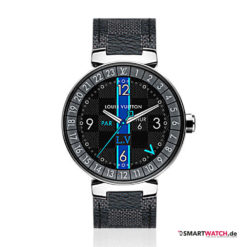 Louis Vuitton Tambour Horizon Graphite - Grau/Silber