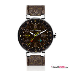 Louis Vuitton Tambour Horizon Monogram - Braun/Silber