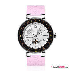 Louis Vuitton Tambour Horizon Monogram - Pink/Silber