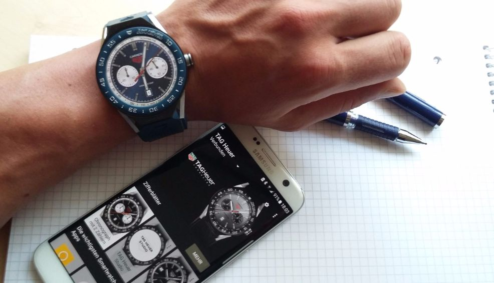 TAG Heuer Connected Modular 45 Smartwatch mit Handy