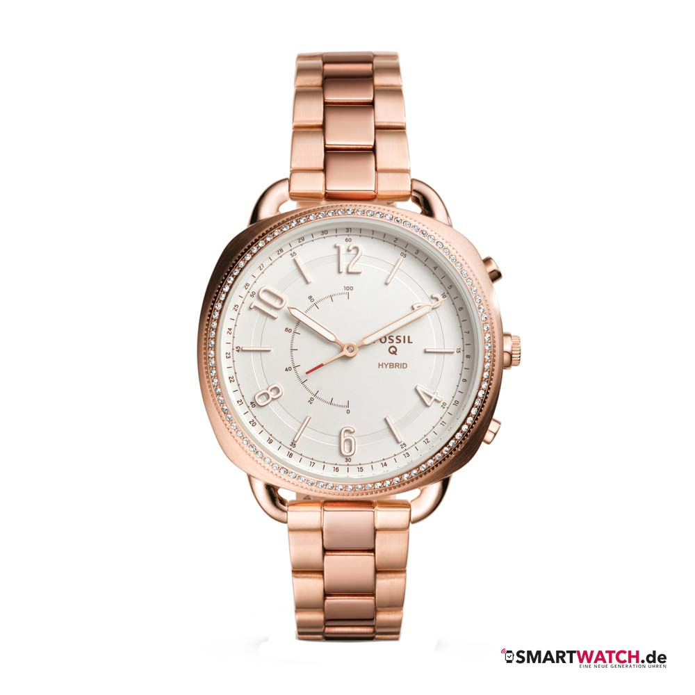 Fossil Q Accomplice, Gliederarmband - Rosegold