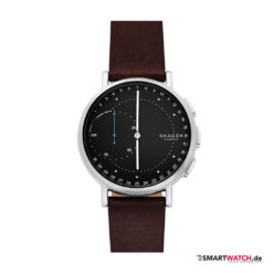 Skagen Connected Signature, Leder - Braun/Silber