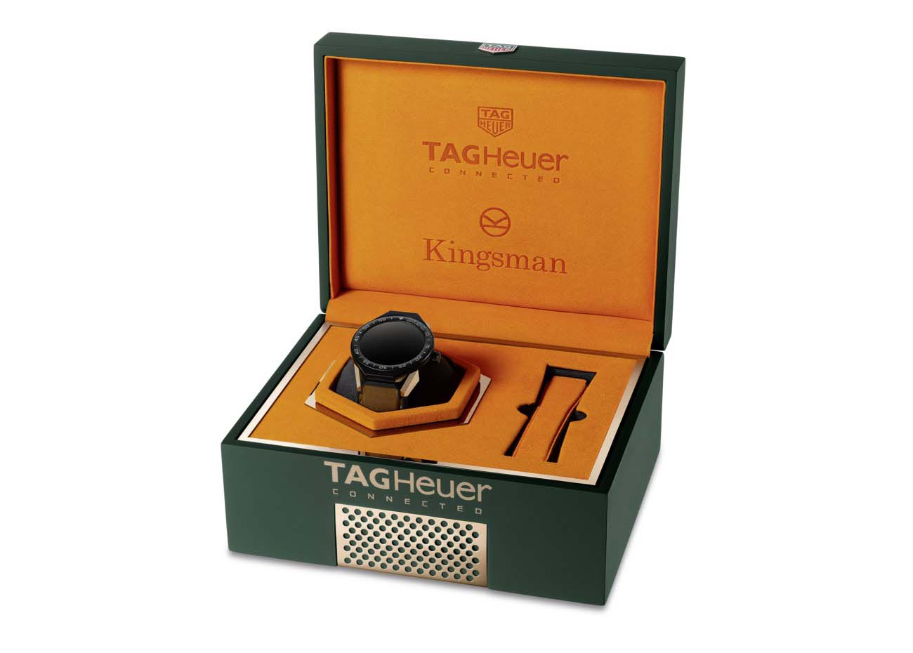 Tag Heuer Connected Modular 45, Kingsman Special Edition Box