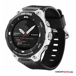 Casio WSD-F20 Winteredition - Schwarz/Weiß