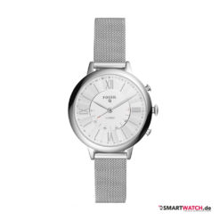 Fossil Q Jacqueline,Mesh - Silber