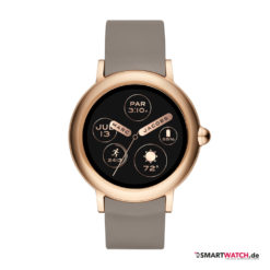 Marc Jacobs Riley Touchscreen, Silikon - Grau/Rosegold