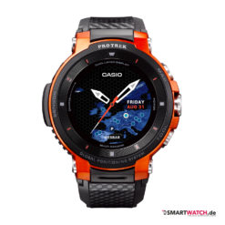 Casio WSD F30 - Schwarz/Orange