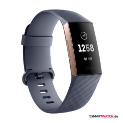 Fitbit Charge 3 - Blaugrau/Rosegold