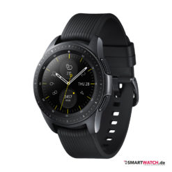 Samsung Galaxy Watch, Silikon - Schwarz (42mm)