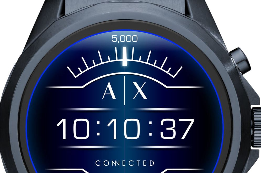 Armani Exchange Connected Smartwatch_1