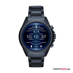 Armani Exchange Connected_Touchscreen Smartwatch, Gliederarmband - Grau