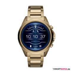Armani Exchange Connected_Touchscreen Smartwatch, Gliederarmband - Gold