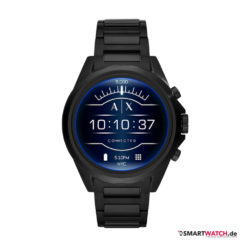 Armani Exchange Connected_Touchscreen Smartwatch, Gliederarmband - Schwarz