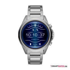 Armani Exchange Connected_Touchscreen Smartwatch, Gliederarmband - Silber