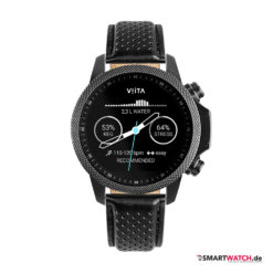 VIITA Active HRV Adventure - 46,5mm, Leder - Schwarz