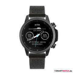 VIITA Active HRV Adventure - 46,5mm, Mesh - Schwarz