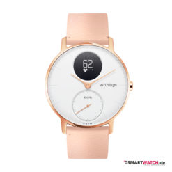 Withings Steel HR, Limited Edition 36mm, Leder - Peach/Rosegold