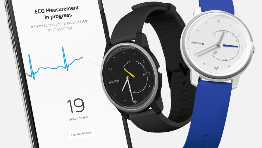 hybrid smartwatch mit ekg messung withings move ecg. Black Bedroom Furniture Sets. Home Design Ideas