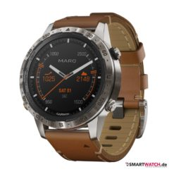 Garmin Marq Expedition Time, Leder - Braun/Silber