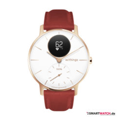 Withings Steel HR Sapphire - Rot/Gold/Weiß