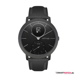 Withings Steel HR Sapphire - Schwarz