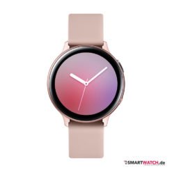 Samsung Galaxy Watch Active 2 - 40mm, Aluminium - Sport Band - Rosa/Rosegold