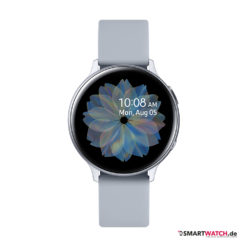 Samsung Galaxy Watch Active 2 - 40mm, Aluminium - Sport Band - Grau(Silber