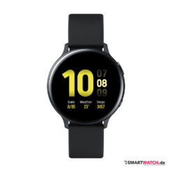Samsung Galaxy Watch Active 2 - 40mm, Aluminium - Sport Band - Schwarz