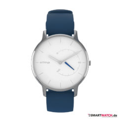 Withings Move Timeless Chic - Blau/Silber/Weiß