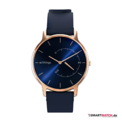 Withings Move Timeless Chic - Blau/Rosegold