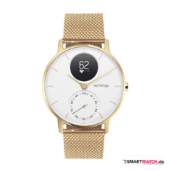 Withings Steel HR, Limited Edition 36mm - Gold/Weiß