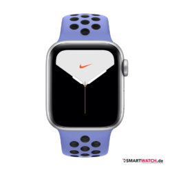 Apple Watch Series 5 GPS + Cellular = 44mm, Aluminium Nike Sportarmband – Royal Pulse/Silber |