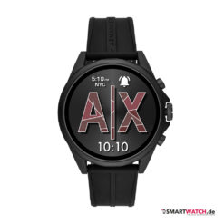 Armani Exchange Connected Touchscreen Smartwatch - Schwarz