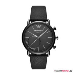 Emporio Armani Connected - 2018, Leder - Schwarz - ART3030