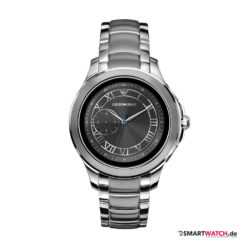 Emporio Armani Connected Touchscreen Smartwatch 2018, Gliederarmband - Silber - ART5010