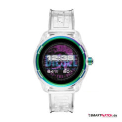 diesel on fadelite smartwatch volltransparent