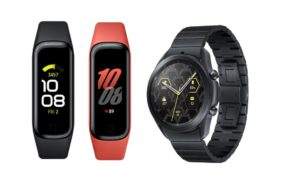 samsung galaxy watch 3 titan und galaxy fit 2
